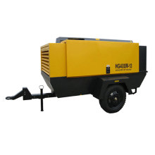 Middle Diesel Drive Movable Air Compressor
