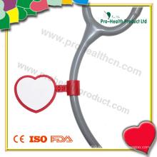 Étiquette d'identification en forme de coeur (pH4123)