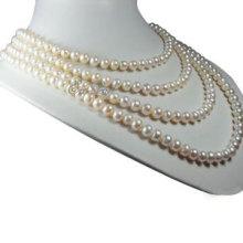 4 Strands Жемчужное ожерелье (E1355)