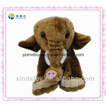 Plush Brown Elephant Toys (XMD-0002C)