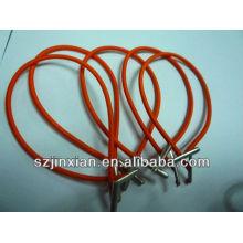 эластичным шнуром с пластиковыми концами,эластичный казначейства теги