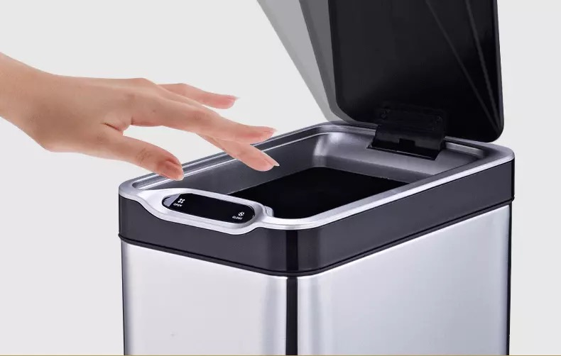 Intelligent Sensor Smart Garbage Can