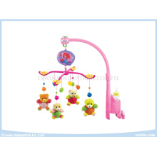 Electric Music Toys Baby Mobile with Fabric Pendant Toys for Baby