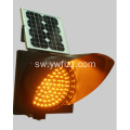 Single Side Movable Solar Yellow Flash Lamp