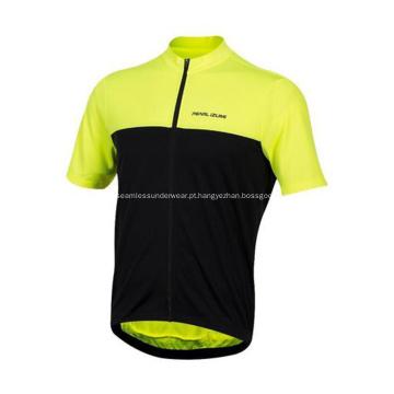 Camisa de ciclismo com estampa personalizada