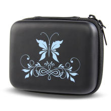 SHBC 10 Bottle Essential Oil Carrying Case with Hard Shell Exterior, Foam Insert and Carrying Handle