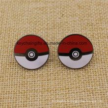 Heißer Verkauf Mode benutzerdefinierte harte Emaille Metall Pokemon Abzeichen