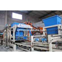 Машина для производства пустотелых бетонных блоков в Китае