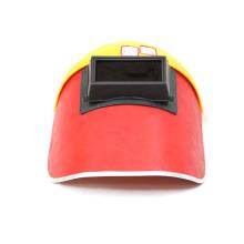 Máscara de soldadura eléctrica (rojo).