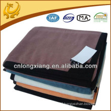 High Quality Plush Recreational Sofa Indian Hotel Bed Plain Color Bamboo Cotton Throw Blanket