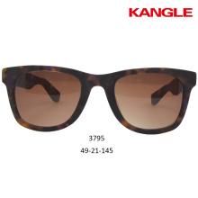 Óculos de sol de bambu Óculos de madeira Molduras ópticas Pronto estoque atacado