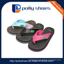 Custom Logo Fashion Girl Slipper Shoes in Rubber Style