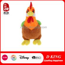 Rainbow Chicken Toy Peluche de felpa de peluche