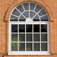wanjia factory high quality half moon windows