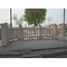 Hand Carved Outdoor Marble Balusters For Sale