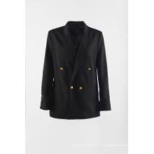 Costume Black Rain pour dame à double boutonnage