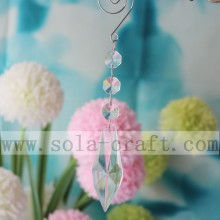 Lamp Decorative Lucite 70MM Irregular Spear Drop For Transparent  Window Chain Ornament