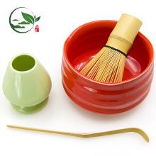 Batong de té de bambú de 80 dientes, accesorios japoneses de Matcha