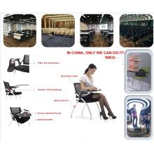 Billiger Studententrainingstreffen Stuhl mit Tischtabletten-Schreibensauflage