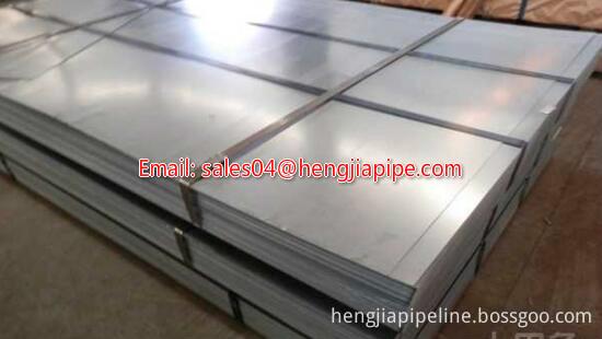 hot-dipped galvanized sheet metal