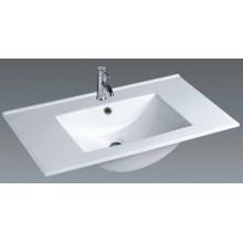 Cuarto de baño de cerámica del cuarto de baño de la vanidad del borde fino (100E)