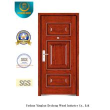 Porta de aço de segurança estilo simples para exterior (b-3022)