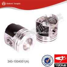 Pistão do motor 340-1004001 (A) para yc6108