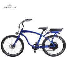 2018 new high quality 48v750w rear hub motor electric beach cruiser bicycles