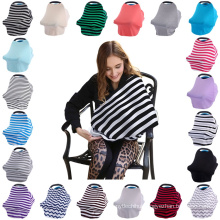 2017 hot sell multifunctional baby car seat covers nursing cover breastfeeding wear