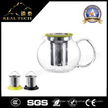 Borosilciate Glas Teekanne mit Infuser