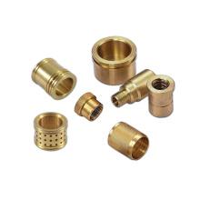 Custom high quality  cnc copper brass parts processing