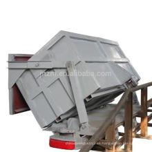 Side dump mining mine car 4 wheel mine wagon para la venta