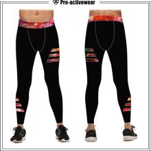 Anti-UV confortável confortável ginásio underwear elástico calças justas