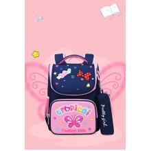 Saco de escola primária mochila infantil 3d mochila dos desenhos animados