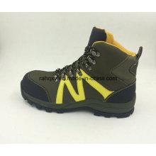 Style décontracté divisé en cuir Nubuck sécurité travail chaussures chaussures d'extérieur (16053)