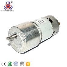 12V 24V motor micro GMard GM51-775PM usado para la máquina expendedora