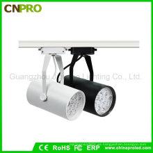 LED Track Light Manufacturer Supply 12W Montaje en superficie luces abajo