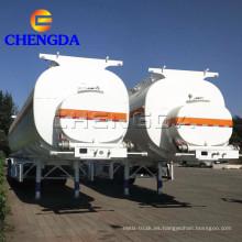 Remolques de camión cisterna de combustible 60000L
