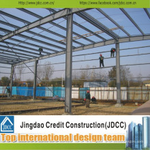 Entrepôt et bâtiment structurels en acier professionnels et rapides