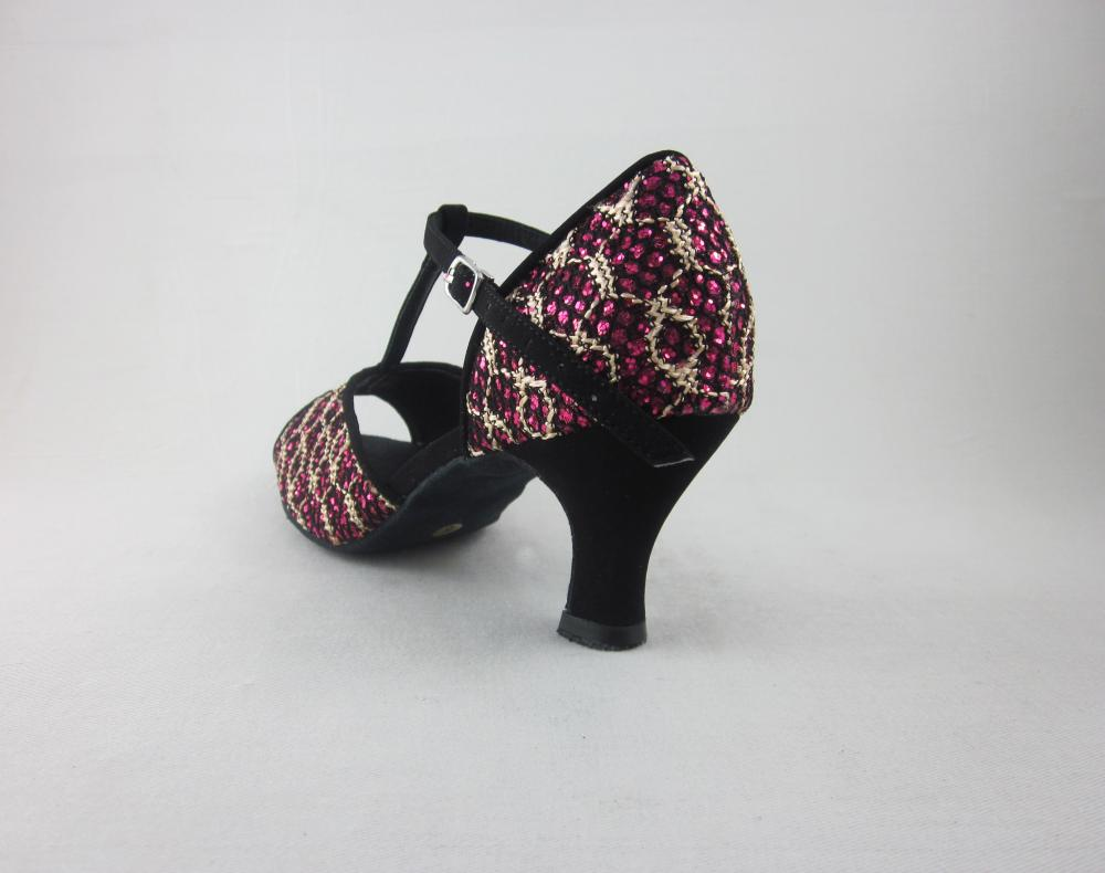 Girls Pink Latin Dance Shoes