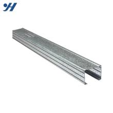 Cold Bending Steel Structure Galvanized Mild Steel C Channel Metal Stud Sizes