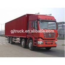 Shacman marca 8X4 drive camioneta para 10-48 metros cúbicos