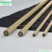 Hochwertige handgemachte Bambus Spey Fliegenrutenleer