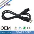 Высокоскоростной кабель СИПУ питания для ноутбука оптом лучшей цене 220В компьютерный кабель в стиле Бразилия шнур питания