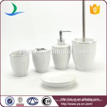 Bom mercado 5pcs cerâmica hotel banheiro item