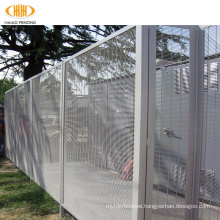 polyester powder 358 anti-climb security fence,358 barbed wire on top fence for prison,guard corromesh 358 industrial fence