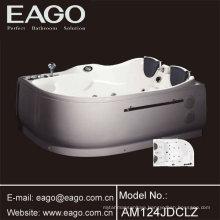 Two People Corner Hydro Massage Tub (AM124JDCW1Z)