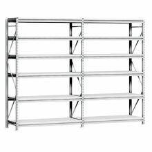 Estante de almacenamiento de techo de almacenamiento de garaje Estante de almacenamiento de almacén de estantería de largo recorrido económico y mediano