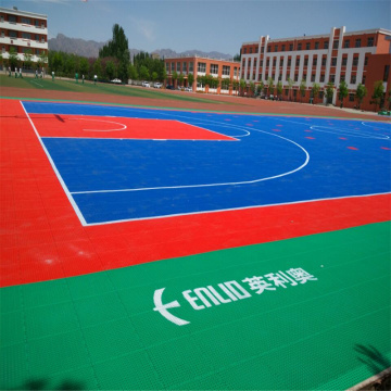 Enlio Basketball Flooring terbuka