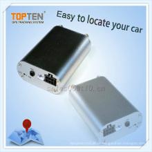 Perseguidor do carro com monitoramento, sobre o alarme da velocidade, motor na chamada, chamada de vibração (TK108-KW)